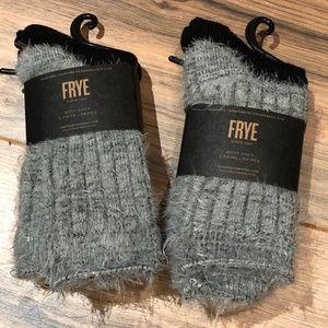 Frye Boot Sock Bundle - 4 pair. NWT - Gray/Black